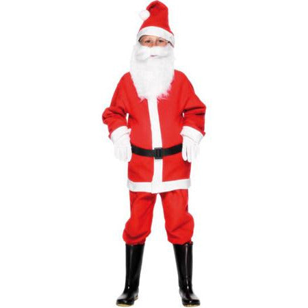 Santa Boy Christmas Costume