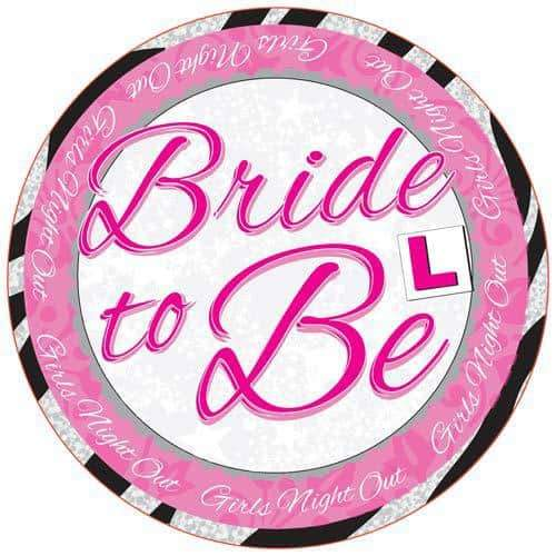 Bride To Be Party Badge