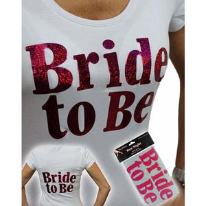 Bride To Be Transfer Logos