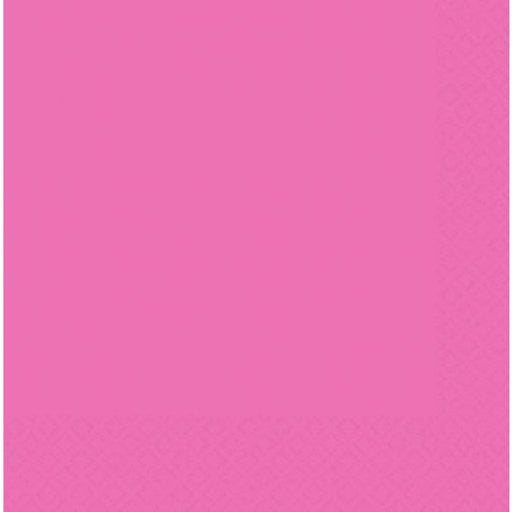Bright Pink Luncheon 2ply Napkins x20