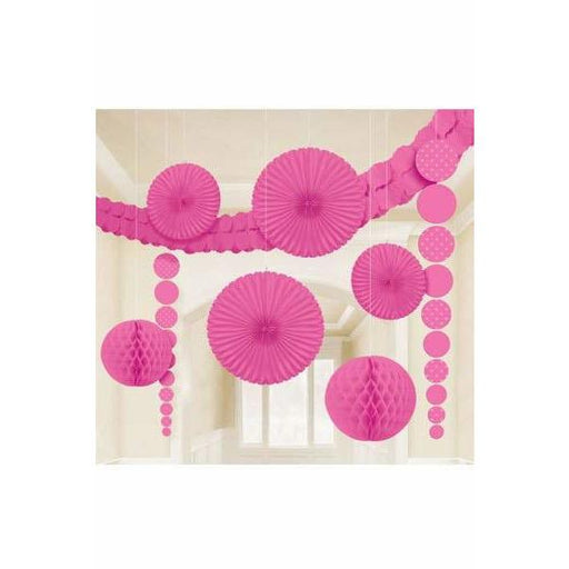 Bright Pink Party Decoration Kits