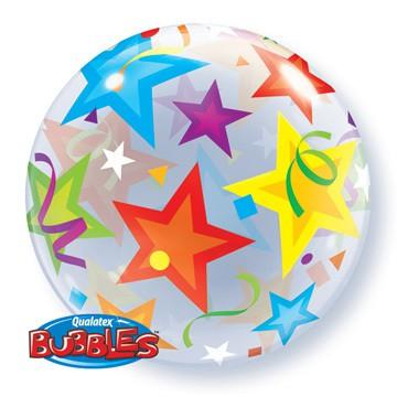 Brilliant Stars Bubble Balloon