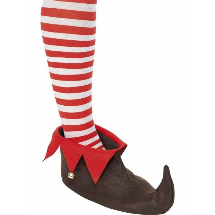 Brown And Red Elf Shoes