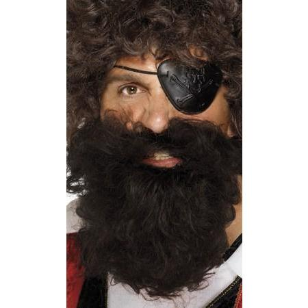 Brown Deluxe Pirate Beard