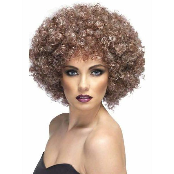 Brown Natural Looking Afro Wig