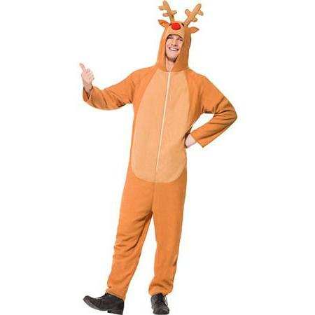 Brown Reindeer Costume