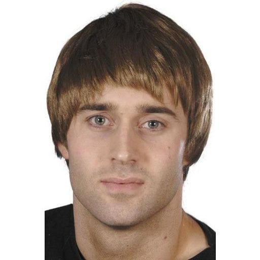 Brown Short Guy Character Wig