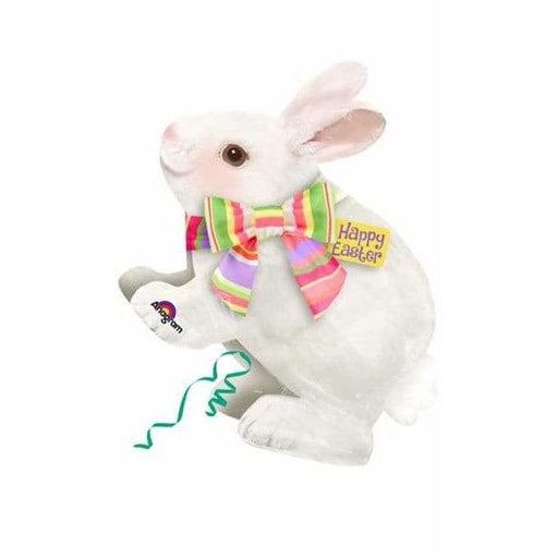 Bunny With Bow Supershape Balloons