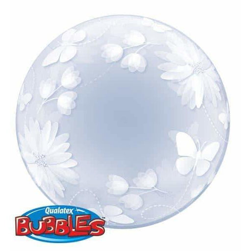 Butterflies And Flowers Deco Bubble Balloon