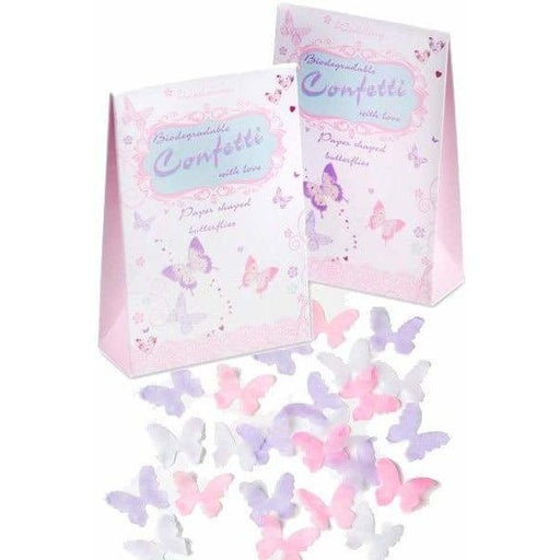 Butterfly Shaped Throwing Confetti 1pk