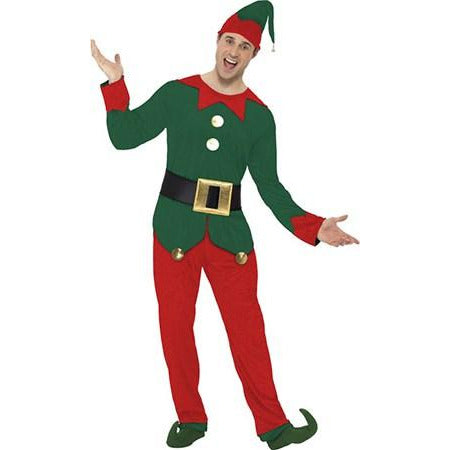Male Elf Christmas Costume