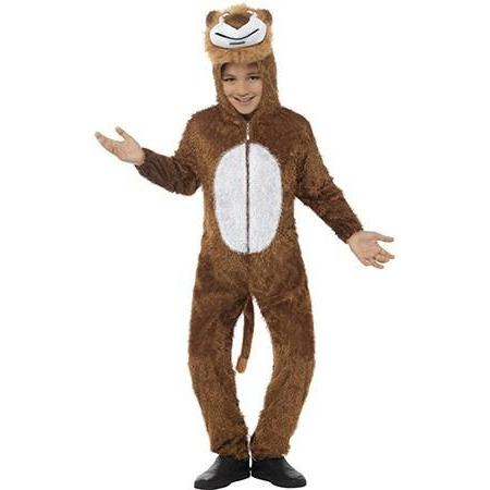 Children's Brown Lion Costume