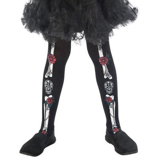 Child's Day Of The Dead Tights