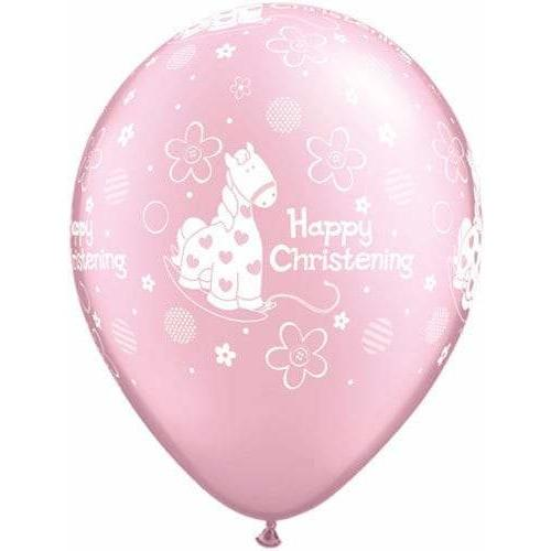 Christening Soft Pony Latex Balloons x25