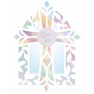 Confirmation Card Invitations x8