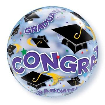 Congrats Graduate Bubble Balloon