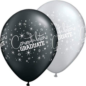 Congratulations Graduate Assorted Latex Balloons x25