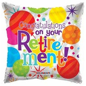 Congratulations Retirement Foil Balloon