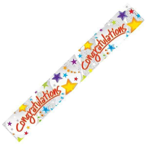 Congratulations Stars Banners