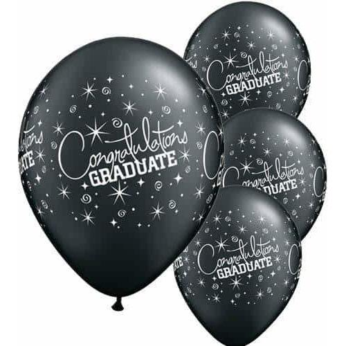 Congraulations Graduate Latex Balloons 6ct