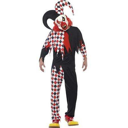 Crazed Jester Costume