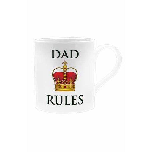 Dad Rules Oxford Mug