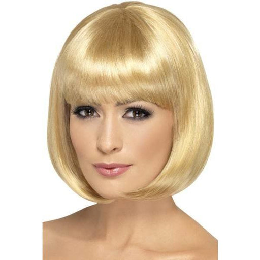 Dark Blonde Partyrama Lady Wigs With Fringe