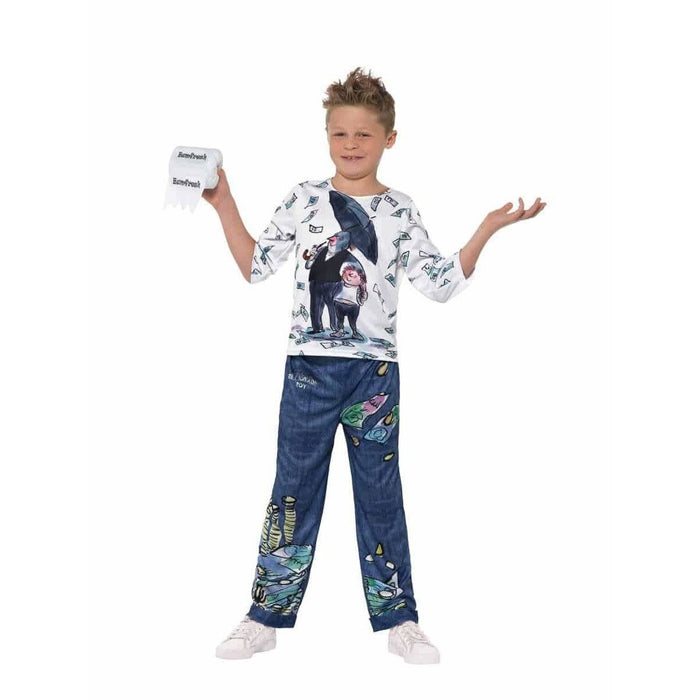 David Walliams Deluxe Billionaire Boy Costume