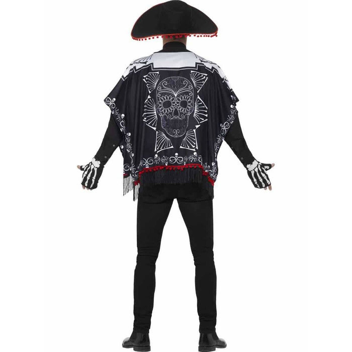 Day Of The Dead Bandit Costume