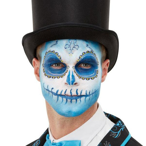 Day Of The Dead Blue Make Up Kit
