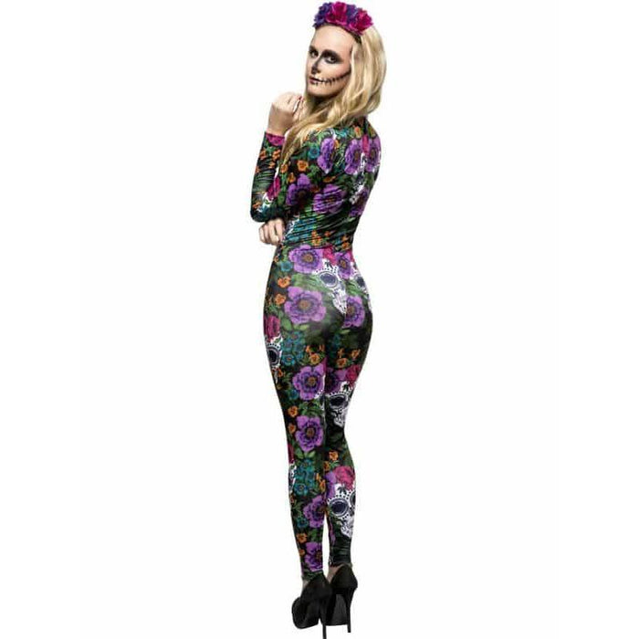 Day Of The Dead Catsuit Costume
