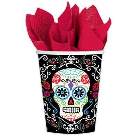 Day Of The Dead Cups 18pk