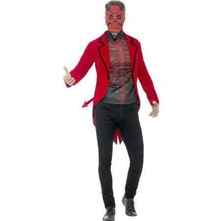 Day Of The Dead Devil Costume