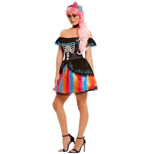Day Of The Dead Lady Costume