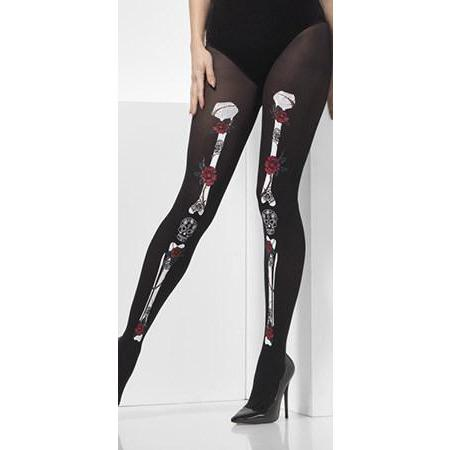 Day Of The Dead Opaque Tights