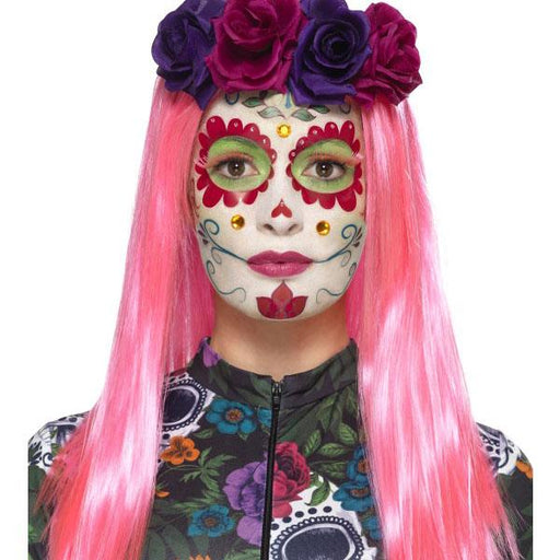 Day Of The Dead Sweet Heart Make Up Set