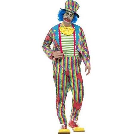 Deluxe Patchwork Clown Costume
