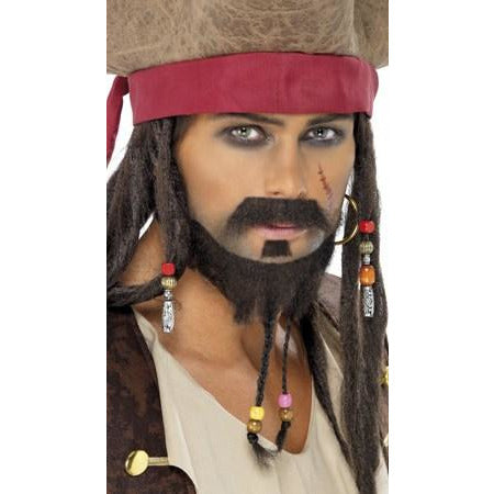 Pirate Beard Plaited Set