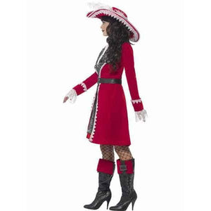 Deluxe Pirate Lady Captain Costume