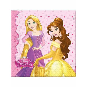 Disney Princess Party Napkins - mypartymonsterstore