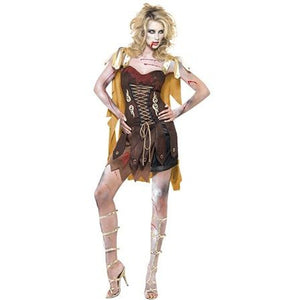 Zombie Gladiator Costume - mypartymonsterstore