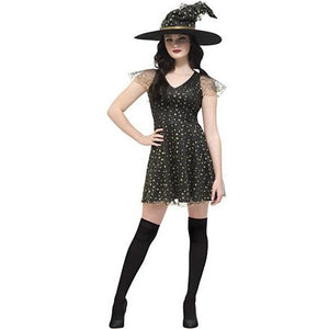 Fever Moon & Stars Witch Costume