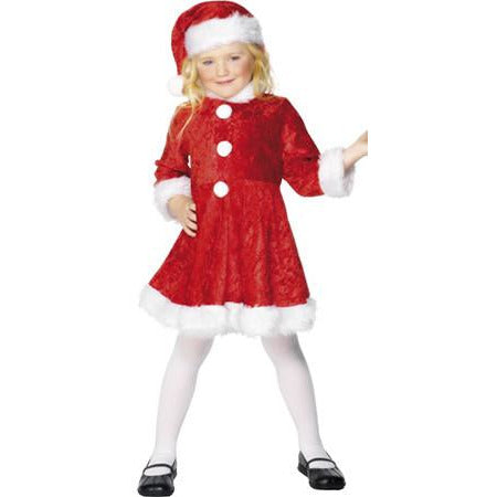 Mini Miss Santa Christmas Costumes