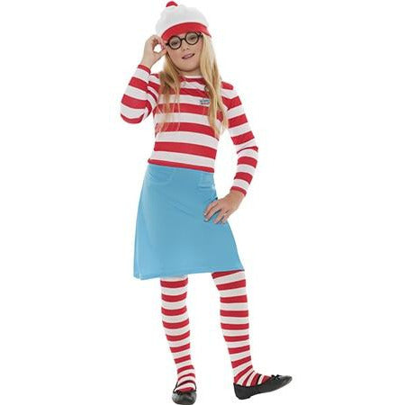 Where's Wally Wenda Child Costume