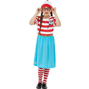 Where's Wally Wenda Deluxe Costume