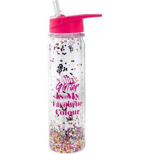 Glitter Is My Favourite Colour Glitter Cup - mypartymonsterstore