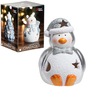 Light Up Glitter Penguin