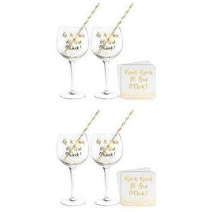 Gold Gin Cocktail Set - mypartymonsterstore