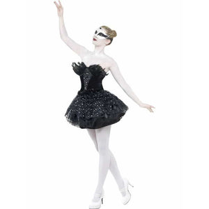 Gothic Swan Halloween Costumes - mypartymonsterstore