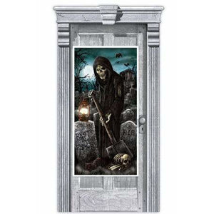 Haunted House Door Decoration - mypartymonsterstore